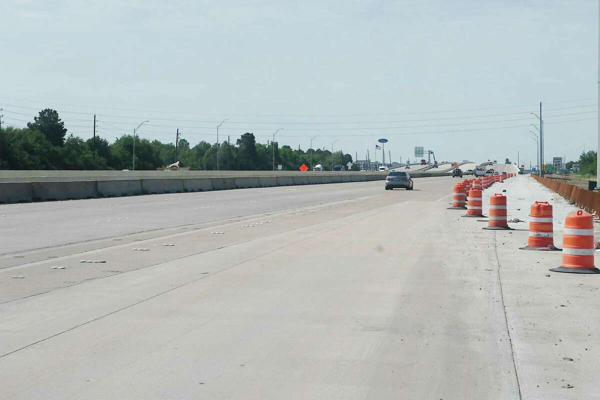 Traffic on Texas 288 has been lighter than usual due to restrictions related to the novel coronavirus pandemic. The sparse traffic has aided construction, allowing sometimes for workers to start earlier or finish later in the day.