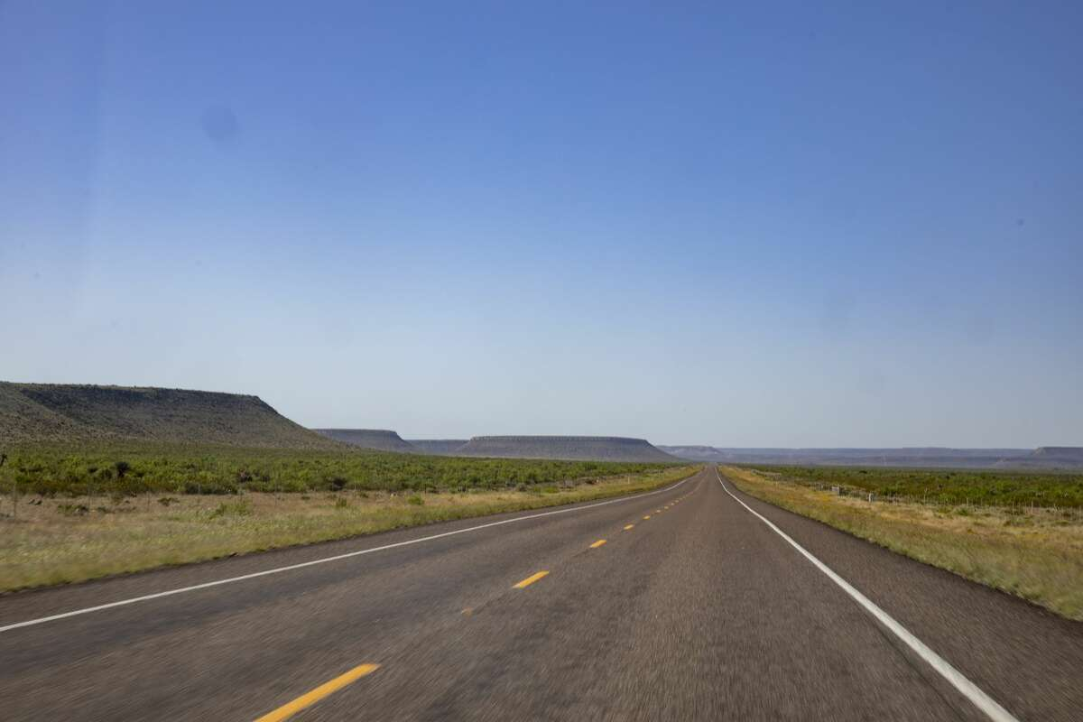 Scenery on the way from Rankin to Iraan on Thursday, April 30, 2020. Jacy Lewis/Reporter-Telegram