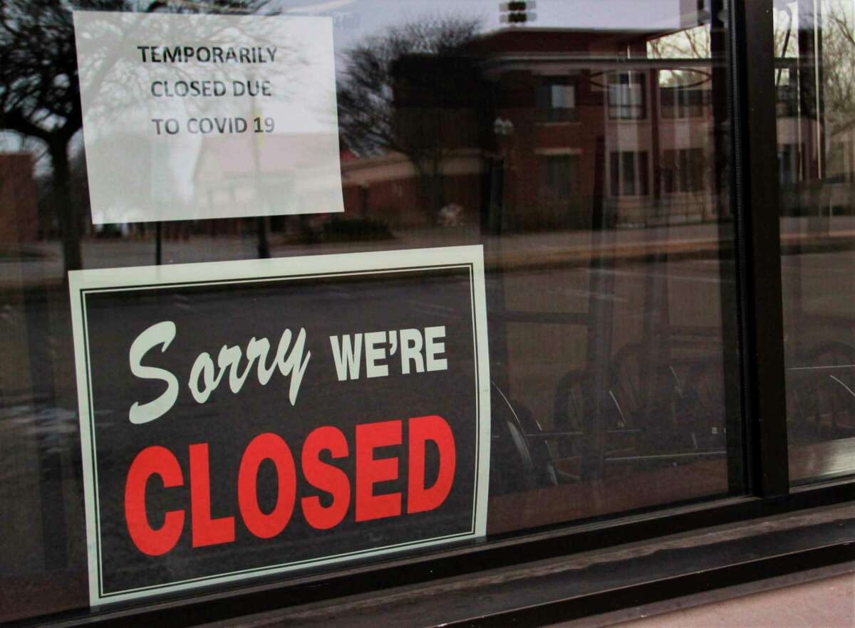 A Mecosta County business sits empty as Gov. Gretchen Whitmer extended her stay-at-home order on Thursday. The order is now in effect until May 28. According to Mecosta County Development Corporation President Jim Sandy, 10 to 20 local businesses may never open their doors again as a result of the coronavirus pandemic. (Pioneer file photo)