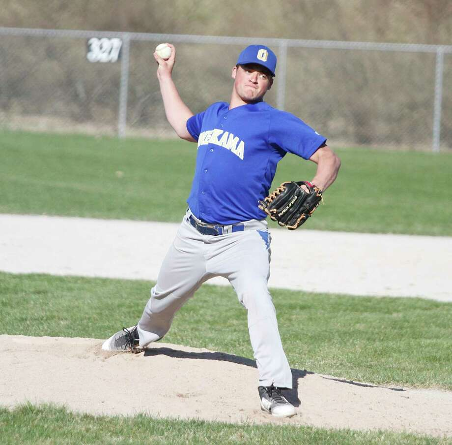 Onekama senior Wade Sedlar and the rest of the Portagers' seniors were looking to close out their prep careers on a high note. (News Advocate file photo)