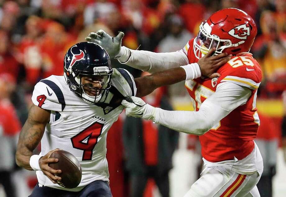 Week 1: at Kansas City Chiefs, 7:20 p.m. Thursday, Sept. 10 (NBC)Chiefs - 9 Photo: Brett Coomer, Houston Chronicle / Staff Photographer / © 2020 Houston Chronicle