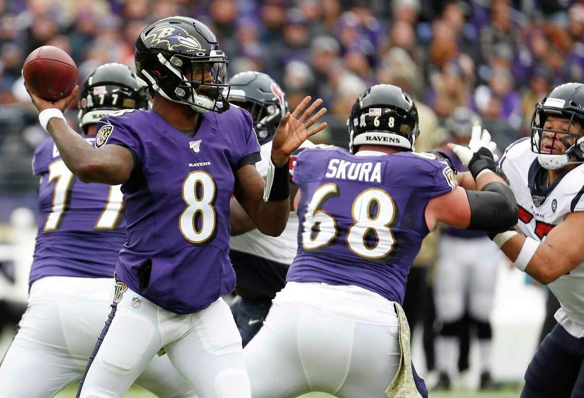 Madden '21 Quarterback Ratings3. Lamar Jackson, Ravens: 94