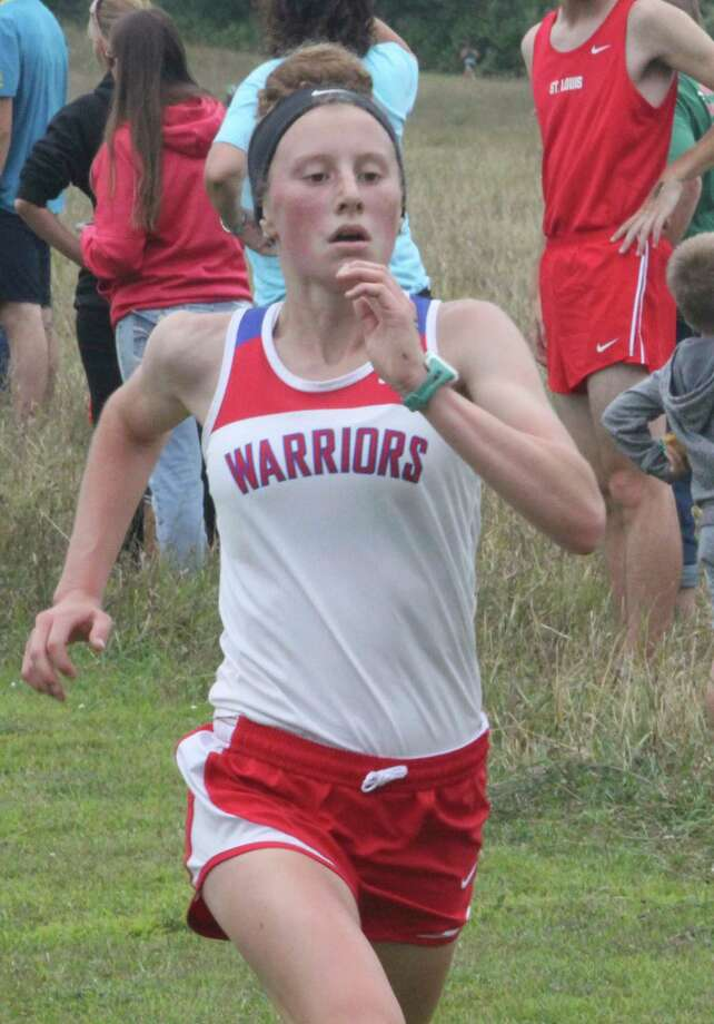 Sarah Storey is among the Chippewa Hills girls runners looking forward to organized running workouts. (Pioneer file photo)