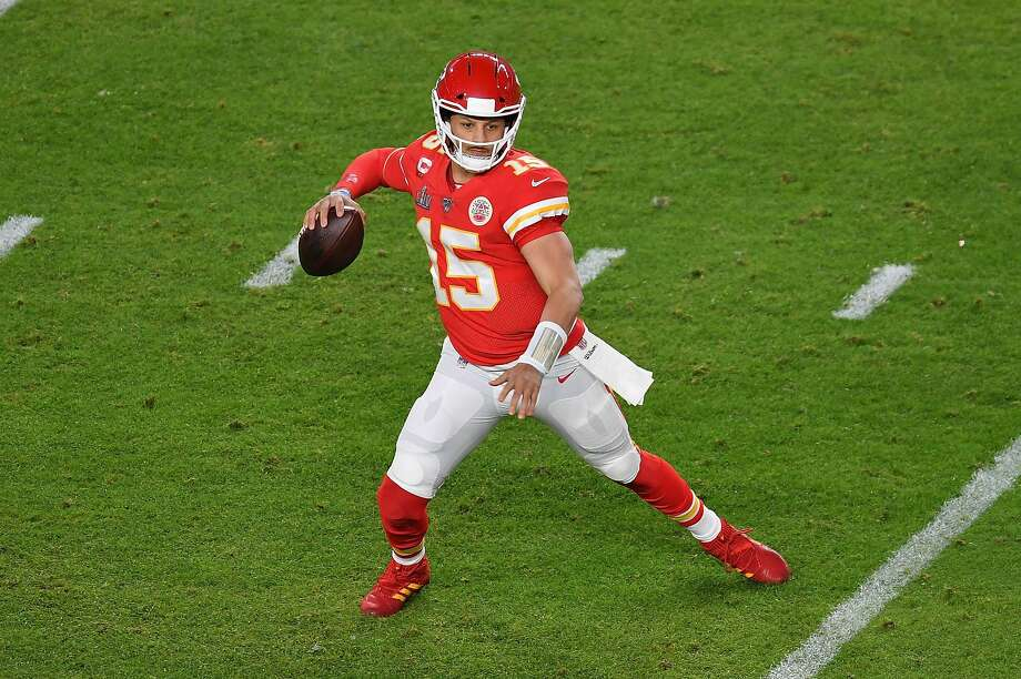 Chiefs quarterback Patrick Mahomes. Photo: ANGELA WEISS / AFP Via Getty Images