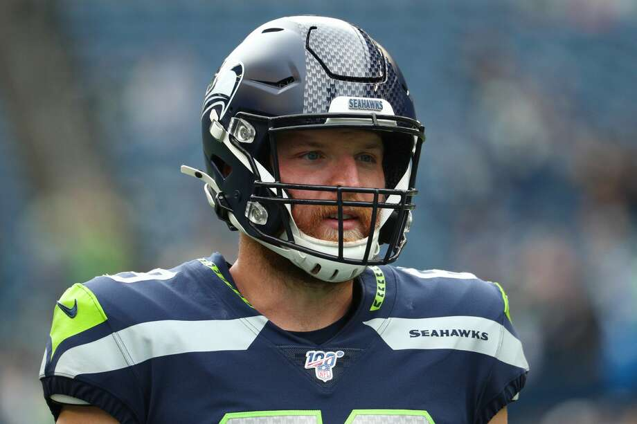 Seattle Seahawks long snapper Tyler Ott is supporting expectant mothers impacted by the novel coronavirus pandemic through the nonprofit March of Dimes. Photo: Abbie Parr/Getty Images / 2019 Abbie Parr