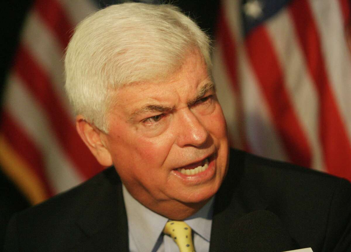 Democratic presidential hopeful, U.S. Sen. Chris Dodd, D-Conn., talks during an interview after a news conference Sept. 8, 2007, in Coral Gables.