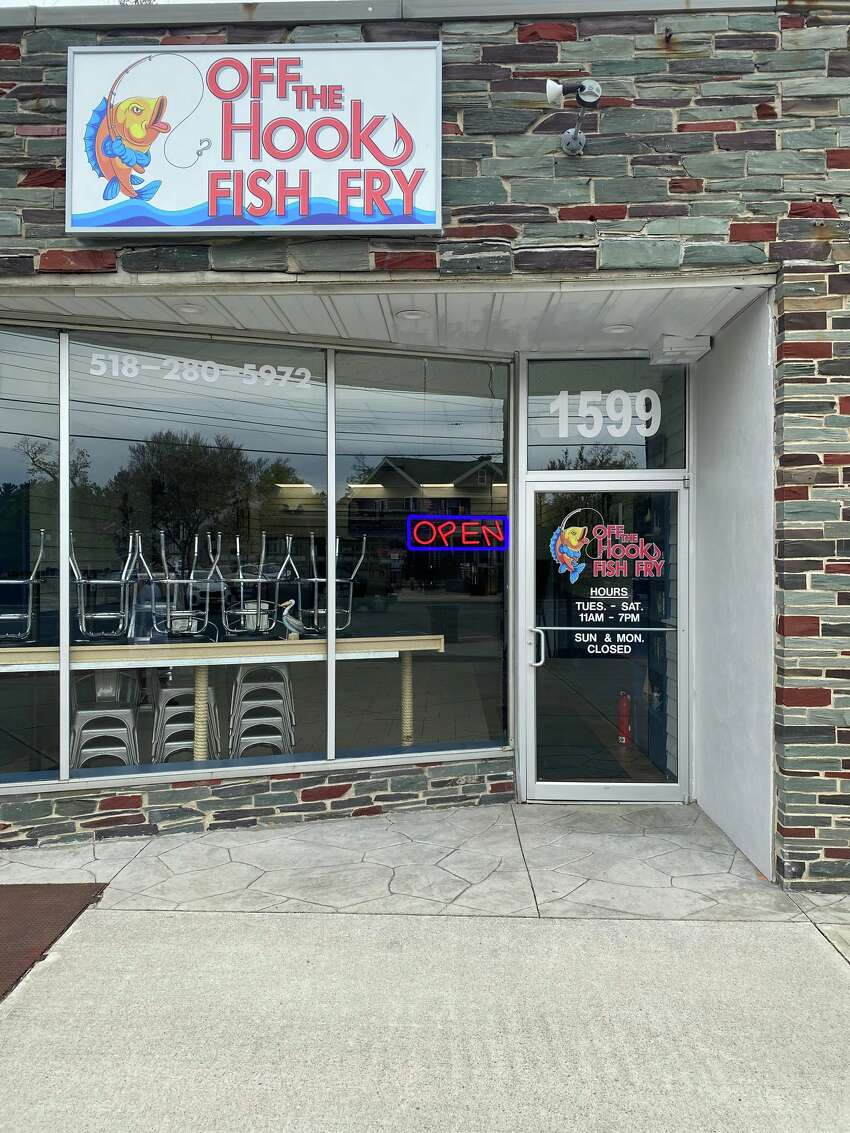 Off the Hook Fish Fry opened on Wednesday, May 6, at 1599 Union St. in Schenectady.