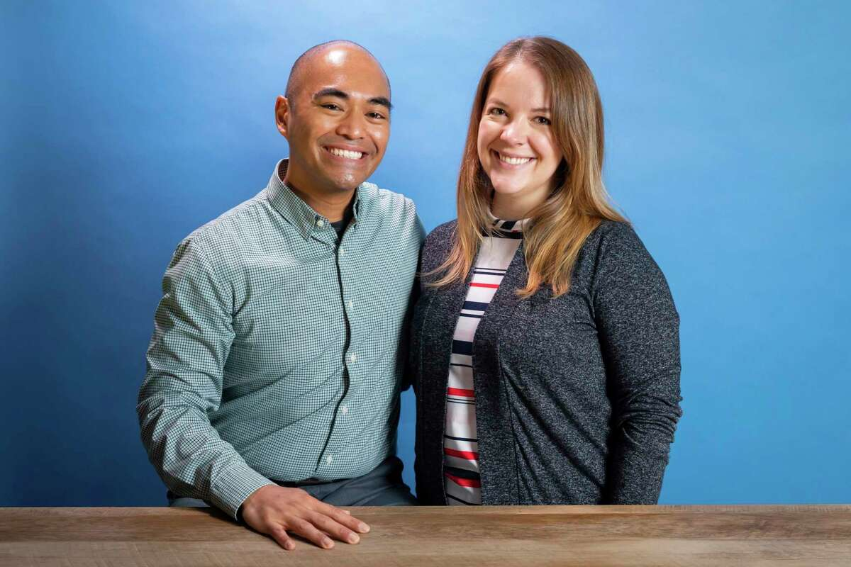 Chris Rabanera of Scheurer with his wife Kerrie. Chris is working on creating a new integrated behavioral health program with Scheurer. (Courtesy Photo/Scheurer Hospital)