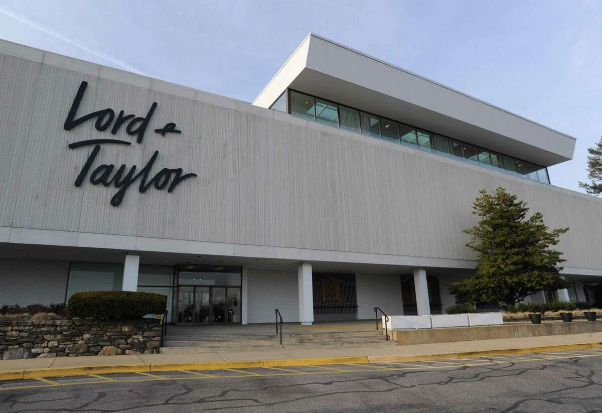 An exterior shot of Lord & Taylor, photograph on March 20, 2019 in Stamford, Connecticut.
