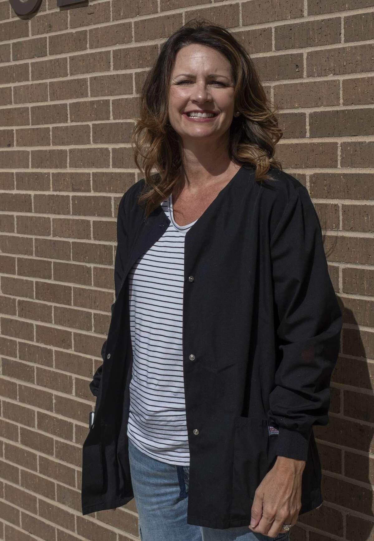 Kimberly Windham, R.N. BSN, is the school nurse at Scharbauer Elementary. 05/08/2020 Tim Fischer/Reporter-Telegram