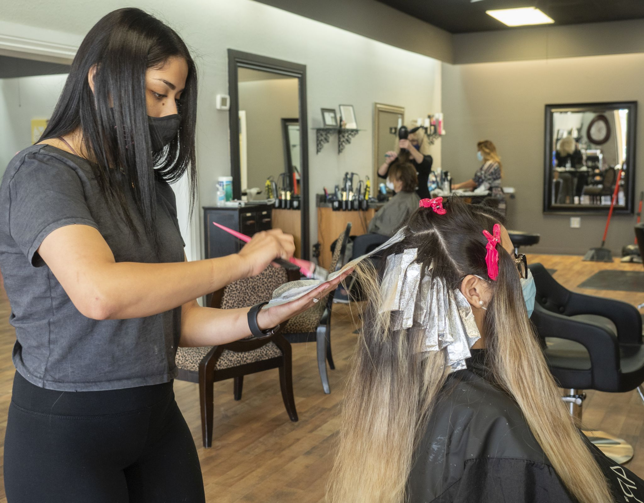 Midland salons busy on first day of reopening - Midland Reporter