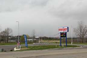 The Bad Axe Meijer gas station opened up for business this week, with cars driving up to get gas and people going inside the convenience store