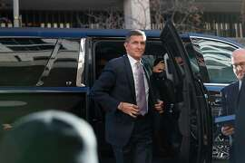 FILE -- Michael Flynn, President Donald Trump's former national security adviser, arrives for a sentencing hearing in Washington, Dec. 18, 2018. The Justice Department's decision to drop the criminal case against Flynn, even though he had twice pleaded guilty to lying to investigators, was extraordinary and had no obvious precedent, a range of criminal law specialists said on Thursday, May 7, 2020. (Tom Brenner/The New York Times)