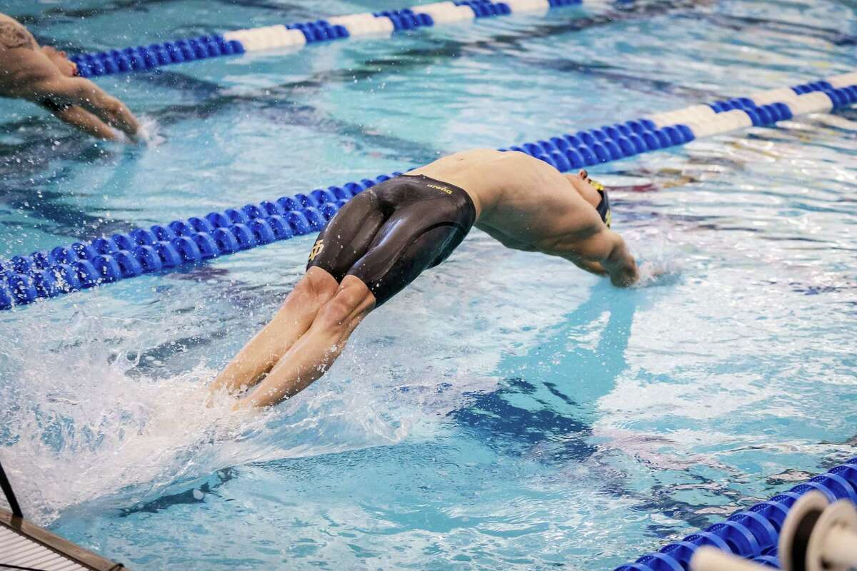 Jack Montesi, a 2016 Greenwich High School graduate, qualified for the NCAA Division I Men's Swimming Championships in three events this past season as a member of the Notre Dame men's swimming team. He finished the season with All-America honors.