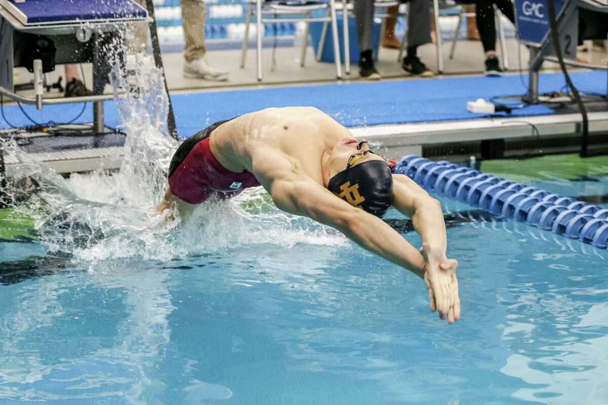 Jack Montesi, a 2016 Greenwich High School graduate, earned All-America honors by producing an impressive senior season as a member of Notre Dame's men's swimming team this past season.