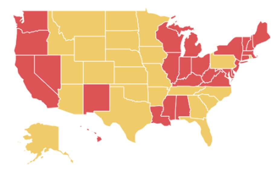 This map shows how states are reopening and what is open beyond ...