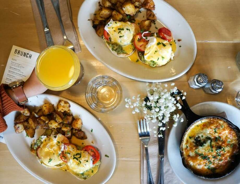 If you're hankering for some classic brunch dishes like eggs benedict or French toast this Mother's Day Weekend, we've got you covered. Click through the gallery to see what favorite brunch spots are offering takeout or delivery this weekend. >>> Photo: Kristina J. Via Yelp