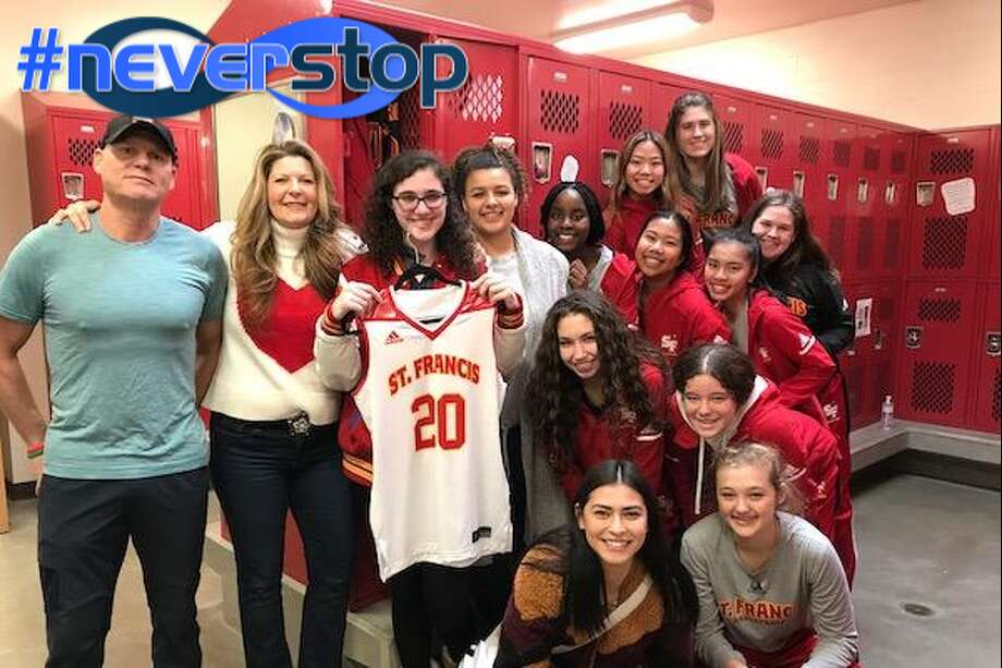 Hannah Malek, St. Francis, Basketball Photo: SportStars Magazine