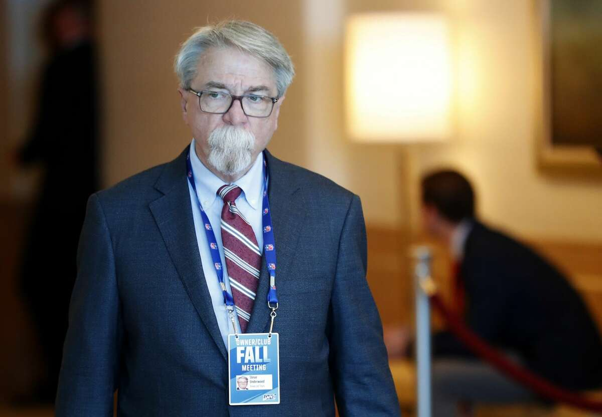 Retiring Titans president and CEO Steve Underwood went viral on social media Friday thanks to his distinctive facial hair. Click through the gallery for more pictures of Underwood's mustache and other famous 'staches through the years.