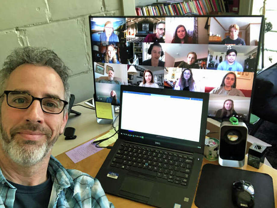 "While technology has allowed colleges to continue learning during the COVID-19 pandemic, John O'Hagan, head of Principia's Creative Arts and Communication Division, said classed via Zoom and Google Hangouts are ""a pale substitute to that vibrant, immediate exchange"" of the classroom."