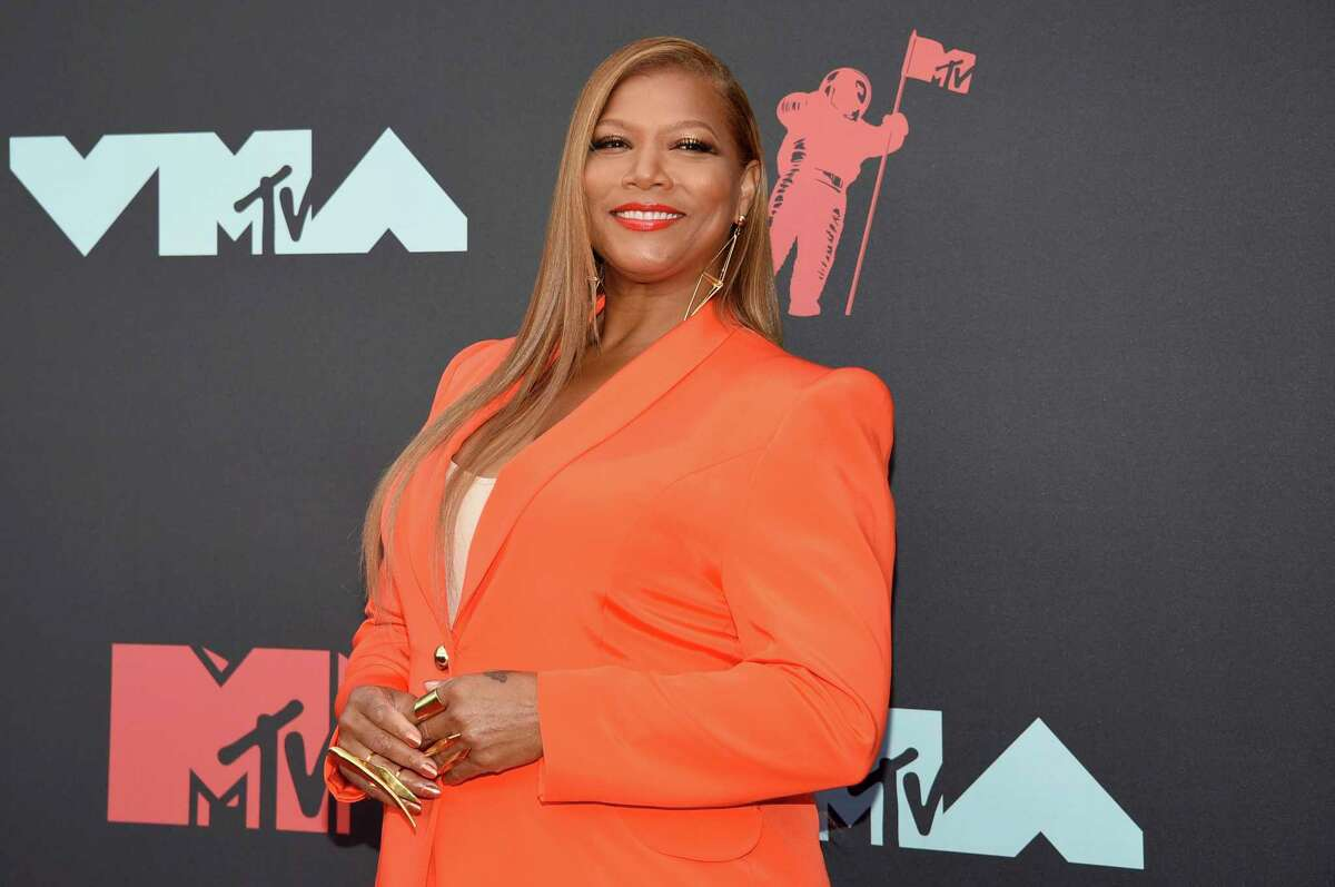 """FILE - In this Aug. 26, 2019 file photo, Queen Latifah arrives at the MTV Video Music Awards in Newark, N.J. Queen Latifah, Rebecca Breeds and Thomas Middleditch are set to star in three new CBS shows for the 2020-21 season as the network adds a reimagined a€œEqualizer,a€ a show based on a€œThe Silence of the Lambs"""" and a comedy about organ donation. (Photo by Evan Agostini/Invision/AP, File)"""