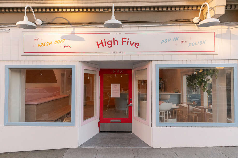 High Five Nails in San Francisco's NoPa is a neighborhood favorite. Photo: Courtesy Of Annie Stancliffe