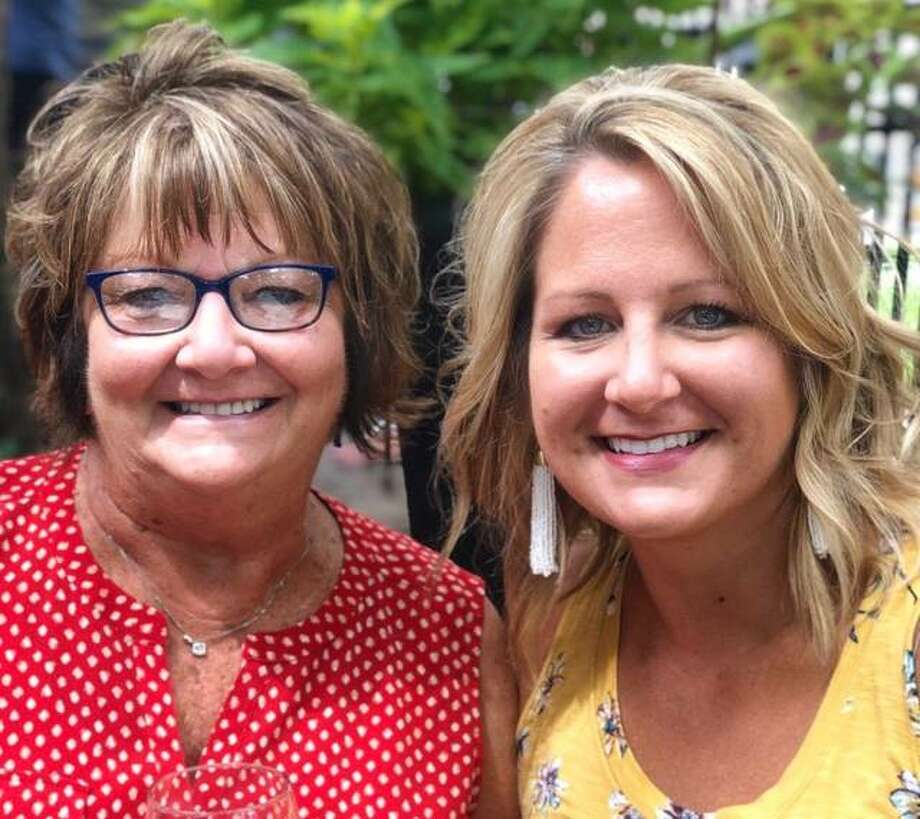 Dr. Briana Oller, right, and her mom Denise Beyers have recently recovered from COVID-19 and will be able to celebrate Mother's Day together on Sunday. Photo: For The Intelligencer