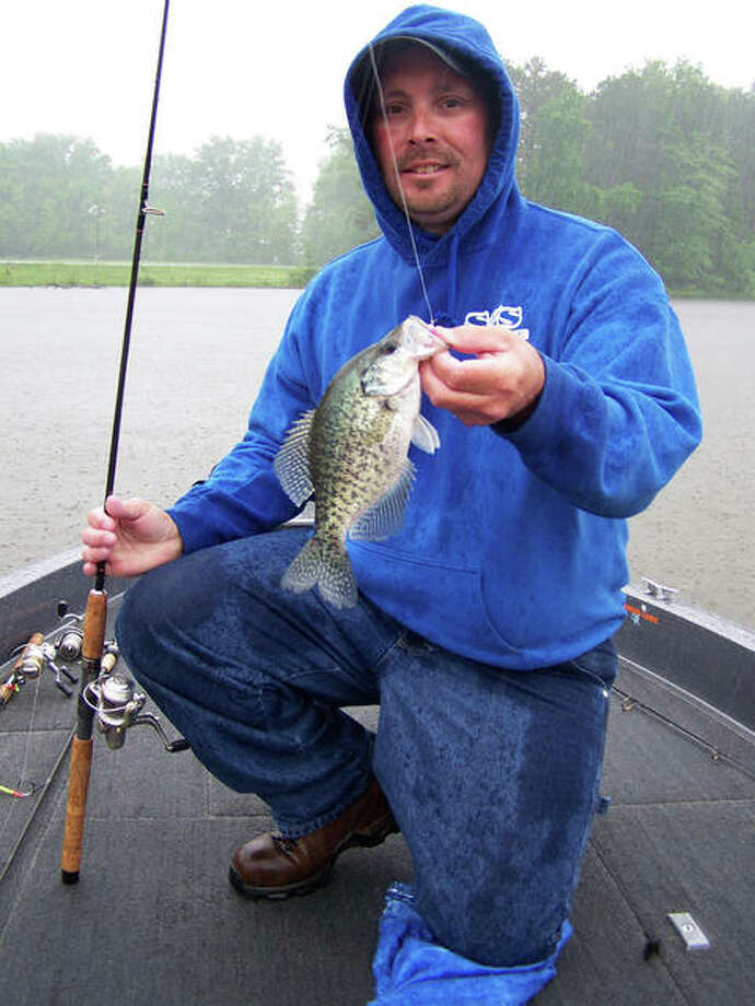 Anglers will find that crappie are ready to bite with the water warming in area lakes and ponds. Photo: Curt Hicken / For The Telegraph
