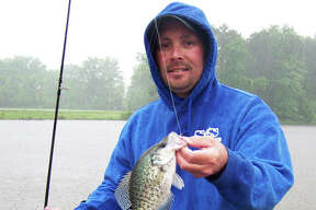 Anglers will find that crappie are ready to bite with the water warming in area lakes and ponds.