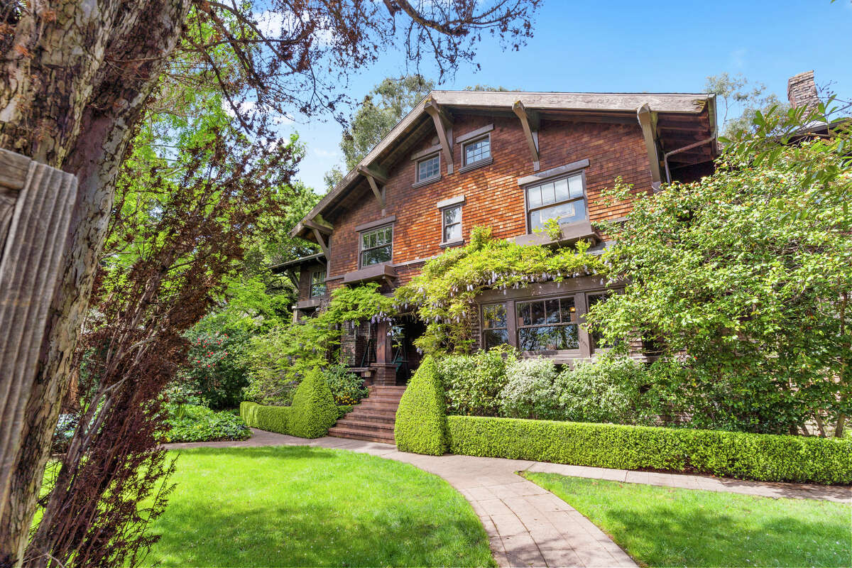 """""""Only three owners in over a hundred years. Pretty amazing,"""" said listing agent Herman Chan. The main home is 2,600 square feet of preserved Craftsman glory."""