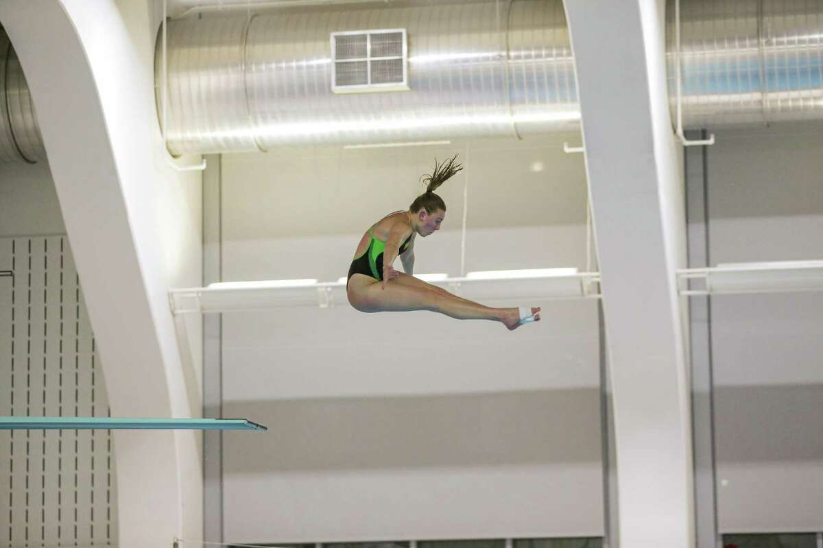 Emily Murphy, a 2017 Greenwich High School graduate, was recently named the University of Vermont swimming and diving team's Athlete of the Year.