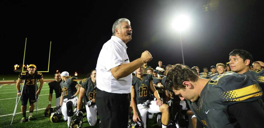 Texas Lutheran's Danny Padron will coach his last game Saturday at home against Southwestern. Padron announced his retirement this week after seven seasons with the Division III Bulldogs. Photo: Dustin Wyatt, Nikon Digital Camera User / Texas Lutheran Athletics / Dustin Wyatt
