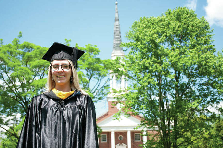 Kaitlyn Brown is among 128 of the final graduates of MacMurray College. The Jacksonville school is closing at the end of this semester. Photo: Darren Iozia | Journal-Courier