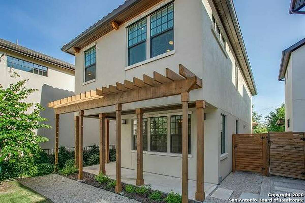 The Hedlunds live in a two-story, three-bedroom detached townhome in Olmos Park. It was built in 2018.