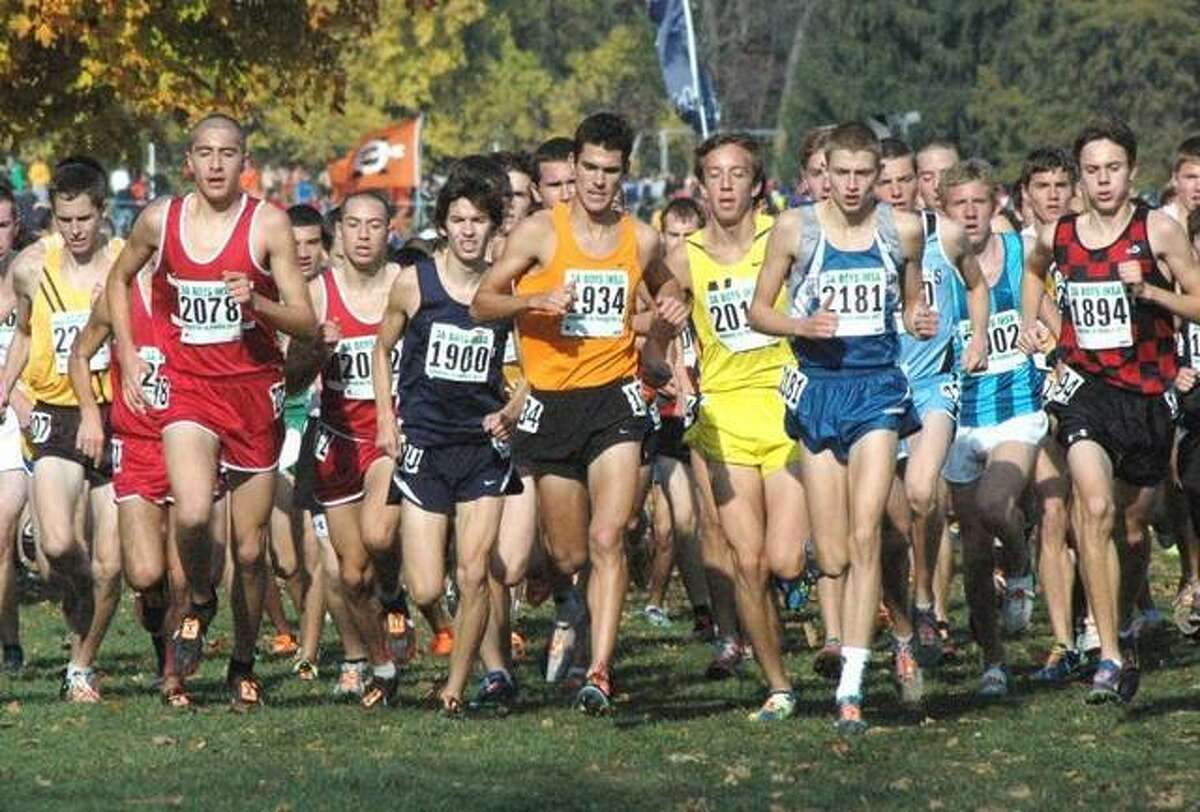Edwardsville runner Garrett Sweatt is a three-time state medalist in boys cross country, including a fourth-place finish his senior season in 2011.