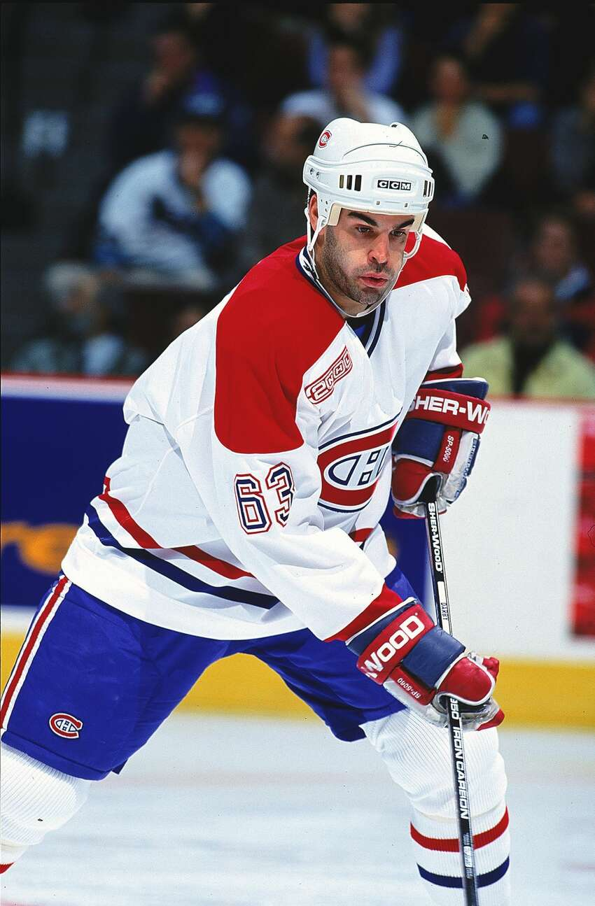 12 Oct 1999: Craig Darby #63 of the Montreal Canadiens moves on the ice during a game against the Florida Panthers at the Molson Centre in Montreal, Canada. The Panthers defeated the Canadiens 2-1. Mandatory Credit: Robert Laberge /Allsport