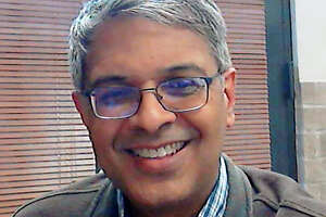 """This selfie photo taken by Dr. Jay Bhattacharya, a professor at Stanford University, shows himself in Stanford, Calif., Sunday, May 10, 2020. Just 0.7% of Major League Baseball employees tested positive for antibodies to COVID-19, the illness caused by the new coronavirus. """"It allows us to get a peek of the nation-wide prevalence,"""" said Bhattacharya, one of the study's leaders, said Sunday. (MLB via AP)"""