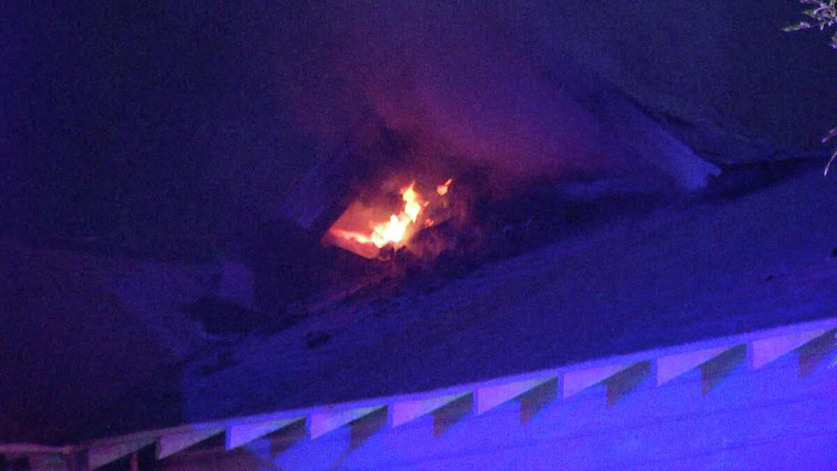 San Antonio Fire Department is looking into arson as the cause of a fire at an East Side duplex Sunday night.