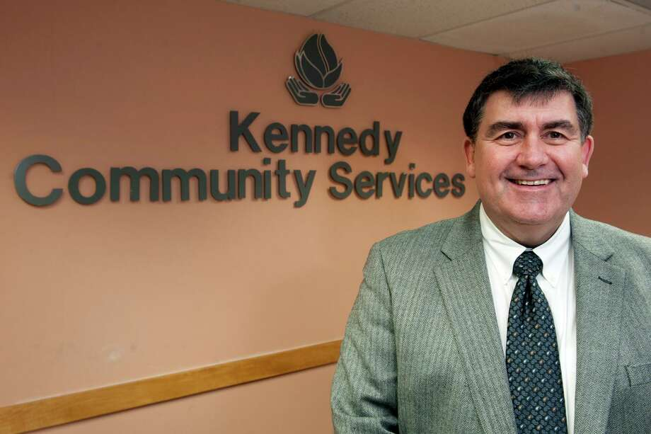 Rick Sebastian is the new President and CEO of The Kennedy Center, headquartered in Trumbull, Conn. Jan. 12, 2108. Photo: Ned Gerard / Hearst Connecticut Media / Connecticut Post