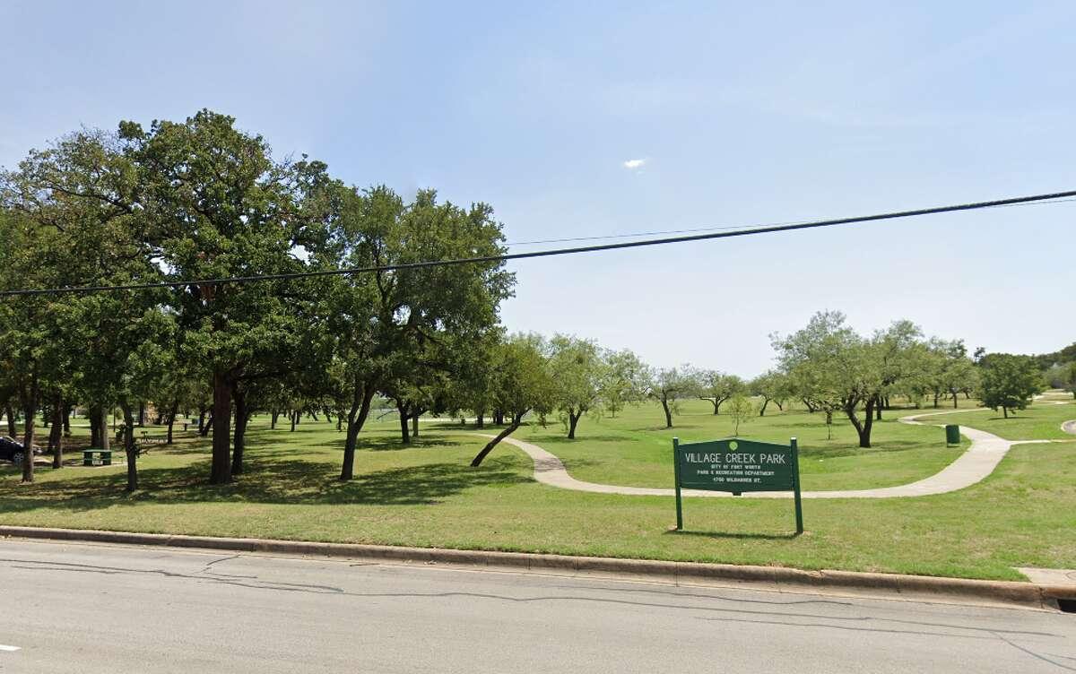 Village Creek Park in Fort Worth