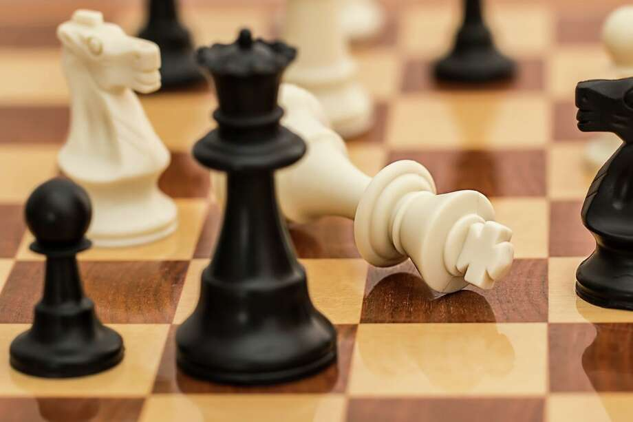The Wilton Library hosts a virtual chess club. Photo: Contributed Photo /