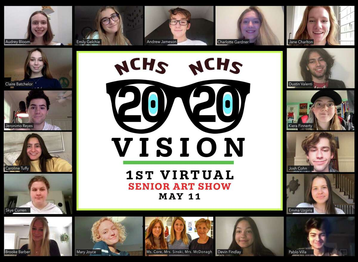 May 11 marked a special moment for a group of New Canaan High School seniors. It was the opening of, (NCHS) 2020 Vision, the 33rd annual Senior Art Show - Virtual. The exhibit is being presented as a video on the New Canaan High School website, and is open to the public.