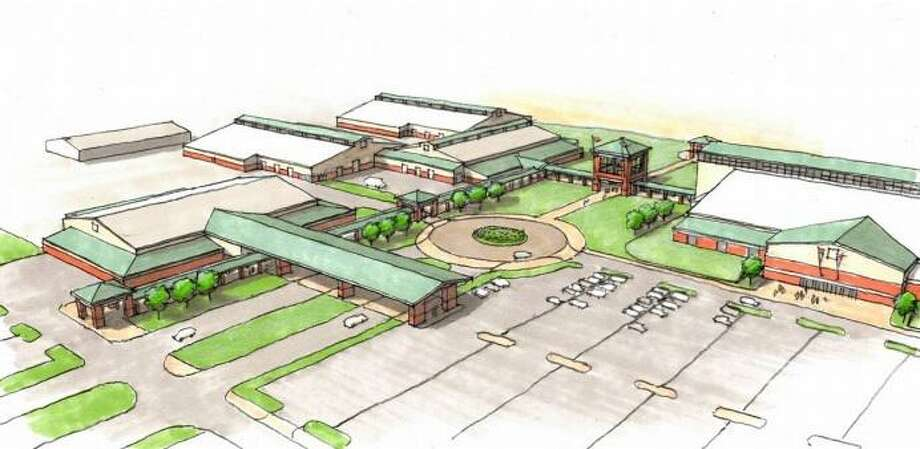 This rendering shows what the planned Webb County Fairgrounds will look like. Photo: Courtesy Of Webb County