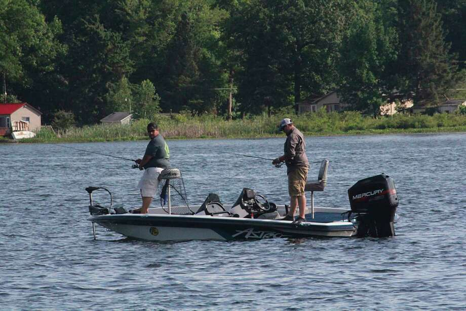Anglers will have to deal with some challenging weather this weekend. (News Advocate file photo)