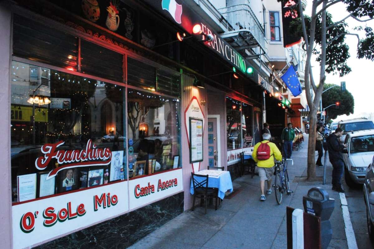 North Beach's Ristorante Franchino, located at 347 Columbus Ave., will permanently close on June 1, 2020.