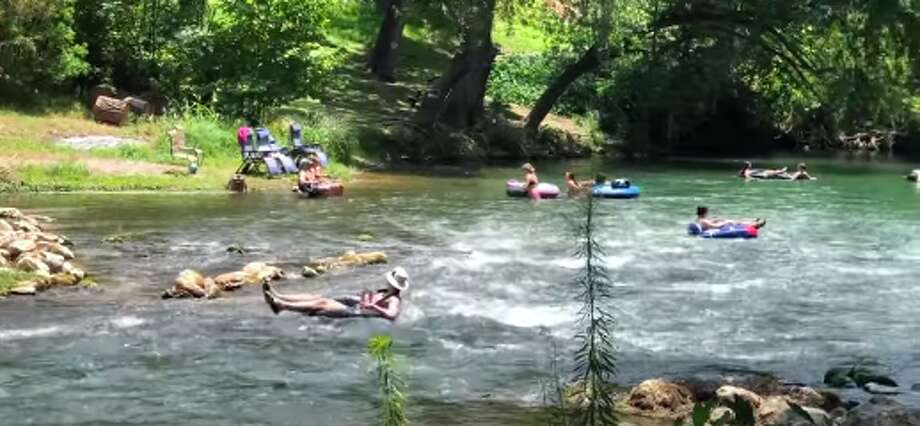 Rockin' R River Rides, a popular tube and kayak outfitter, shared video with mySA of the first weekend on the Guadalupe since officials allowed the reopening of rivers, lakes, beaches and parks in Texas. Photo: Rockin' R River Rides