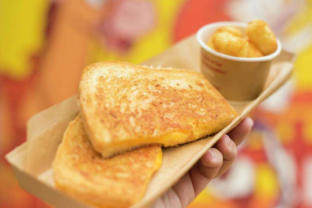 The recipe for Toy Story Land's grilled cheese sandwich was shared by Disney Parks.