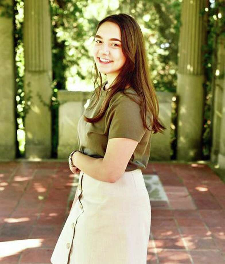 Isabella Carlo, Senior at Old Saybrook High School, has been recognized as a National Merit Scholar and is a recipient of the National Merit Scholarship. Photo: Contributed Photo