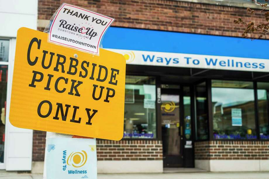 Ways to Wellness, located at 122 W. Main Street, is currently offering curbside pickup only. (Katy Kildee/kkildee@mdn.net)
