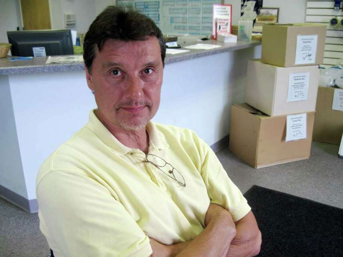 Mark Rekucki in 2010. (Cathy Woodruff / Times Union)